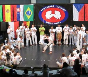 Špičky tuzemské i zahraniční capoeiry Na Karmeli