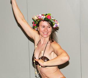 Slávka Chrpová na Karmel z Polynésie přitančila
