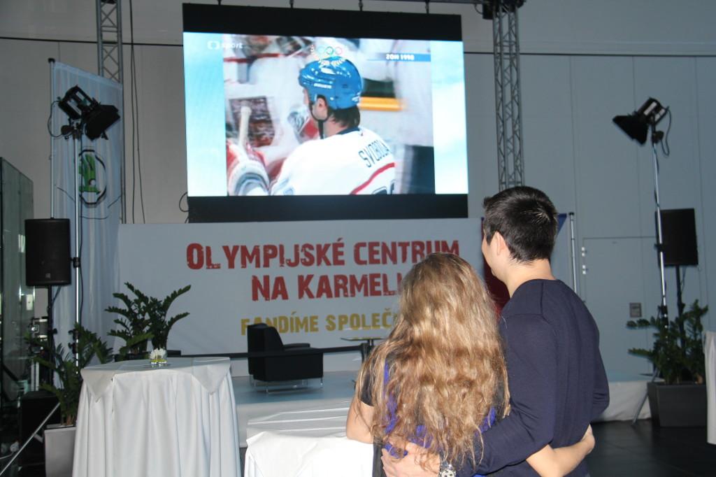 Přímé přenosy z olympiády Na Karmeli – přijďte fandit i vy!