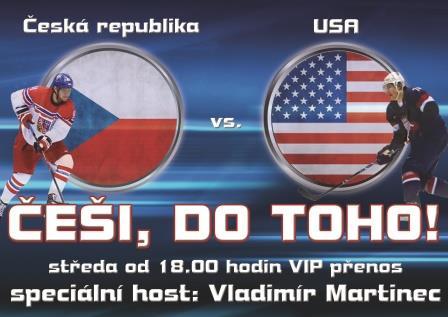 Hrajeme dál!! Podpořte náš tým v boji proti USA