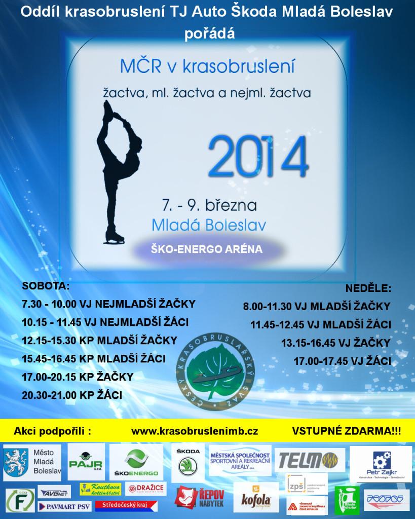 Plakát MČR 2014 OF