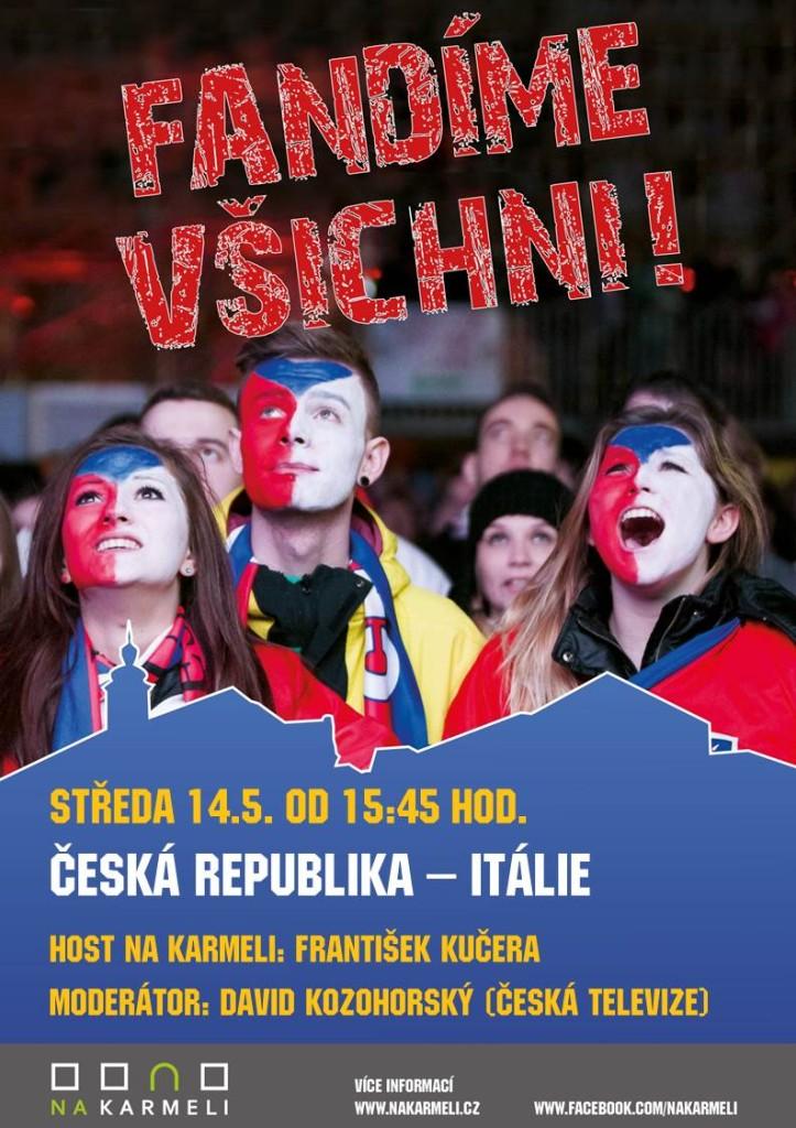 Hokejová aréna – Češi proti Itálii!