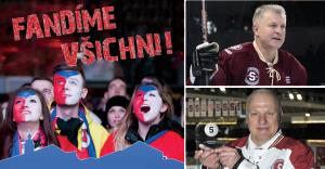 Víkend ve znamení hokeje Na Karmeli – přijďte český tým popohnat za zlatem!
