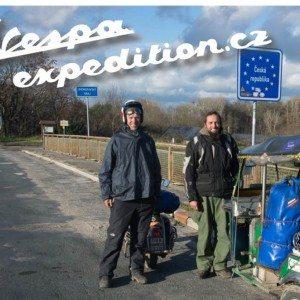 Vespa expedition s Martinem Měchurou a Petrem Petříčkem