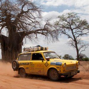 Dan Přibáň: Trabantem napříč Afrikou